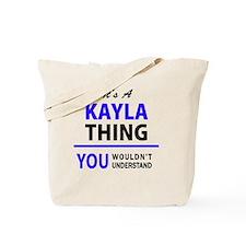 Cool Kayla Tote Bag