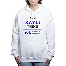 Unique Kayli Women's Hooded Sweatshirt