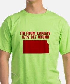KANSAS SHIRT DRINKING HUMOR B T-Shirt