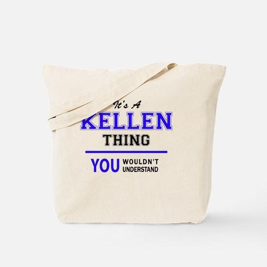 Unique Kellen Tote Bag