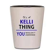 Unique Kelli Shot Glass