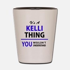 Unique Kelli Shot Glass
