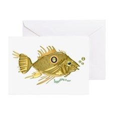Gold Fish Greeting Cards (Pk of 10)