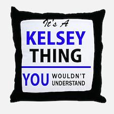 Unique Kelsey Throw Pillow