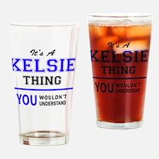 Cute Kelsie Drinking Glass