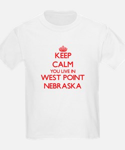 Keep calm you live in West Point Nebraska T-Shirt