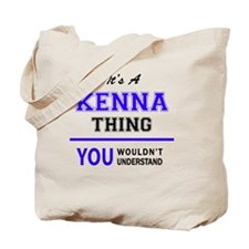 Cute Kenna Tote Bag
