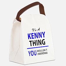 Cute Kenny Canvas Lunch Bag