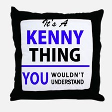 Cute Kenny Throw Pillow