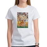Spring / Corgi Women's T-Shirt
