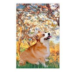 Spring / Corgi Postcards (Package of 8)