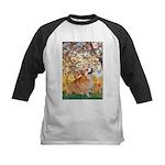Spring / Corgi Kids Baseball Jersey