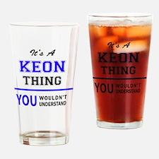 Cute Keon Drinking Glass