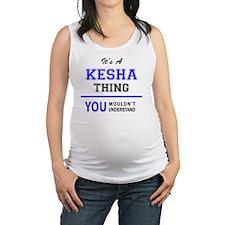 Cute Kesha Maternity Tank Top