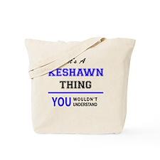 Cute Keshawn Tote Bag