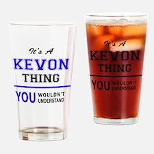 Funny Kevon Drinking Glass