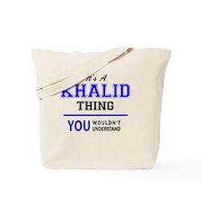 Cute Khalid's Tote Bag