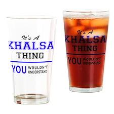 Cute Khalsa Drinking Glass