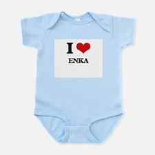 I Love ENKA Body Suit
