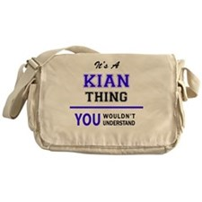 Cute Kian Messenger Bag