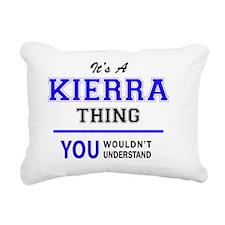 Cute Kierra Rectangular Canvas Pillow