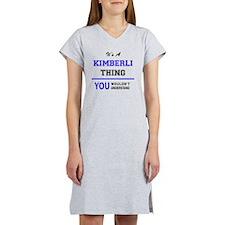Cute Kimberly Women's Nightshirt