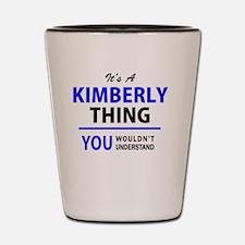 Cool Kimberly Shot Glass