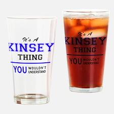 Cute Kinsey Drinking Glass