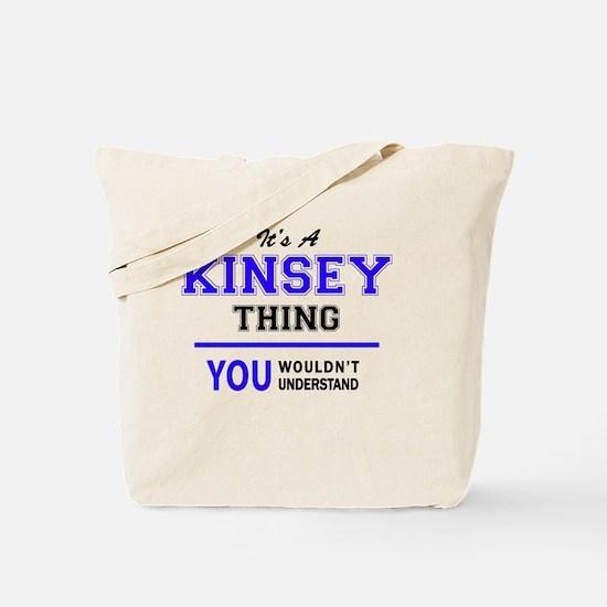 Cute Kinsey Tote Bag