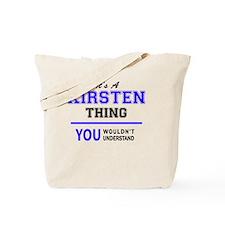 Cute Kirsten Tote Bag