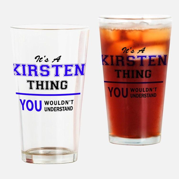 Cute Kirsten Drinking Glass