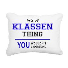 Cute Klassen Rectangular Canvas Pillow