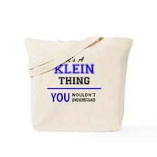 Cute Klein Tote Bag