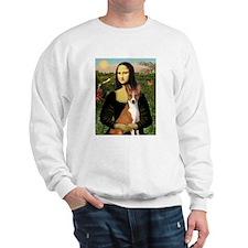 Mona Lisa (new) & Basenji Sweatshirt