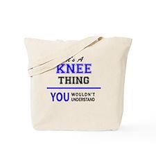 Cute Knee Tote Bag