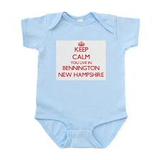 Keep calm you live in Bennington New Ham Body Suit