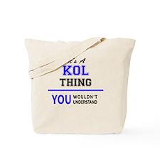 Cute Kol Tote Bag
