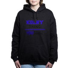 Cute Kolby Women's Hooded Sweatshirt