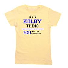 Cute Kolby Girl's Tee