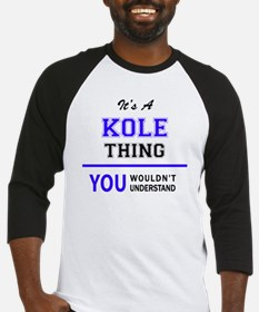 Cute Kole Baseball Jersey