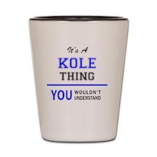 Cute Kole Shot Glass