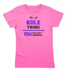 Cute Kole Girl's Tee