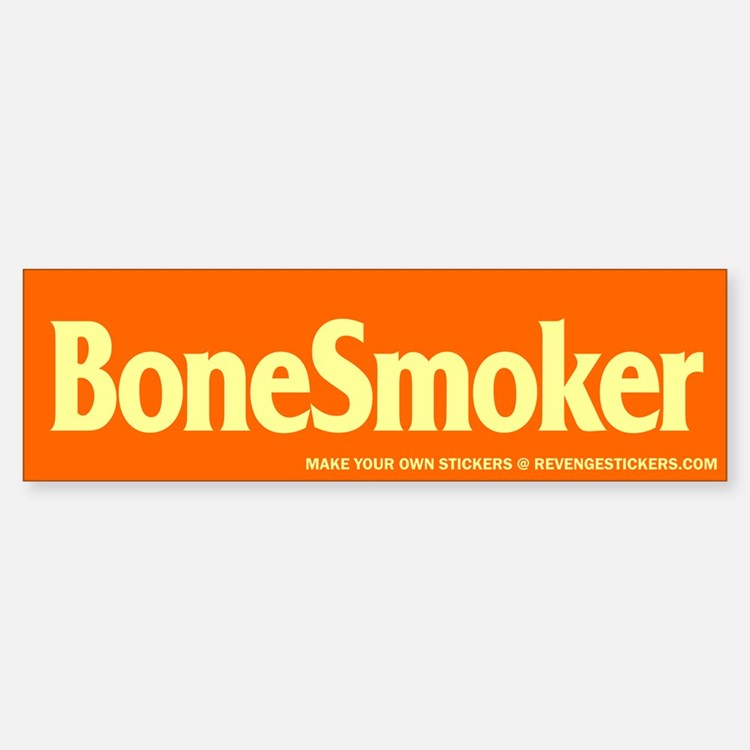 Bone Smoker - Revenge Bumper Bumper Sticker
