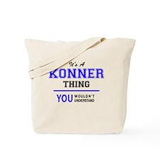 Cute Konner Tote Bag