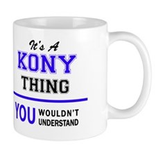 Cute Kony Mug