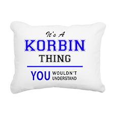 Cute Korbin Rectangular Canvas Pillow