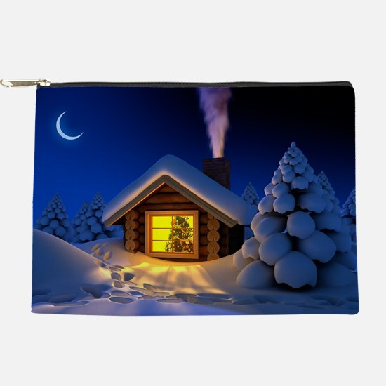 Happy New Year Makeup Pouch