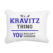 Cute Kravitz Rectangular Canvas Pillow
