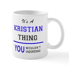 Unique Kristian Mug