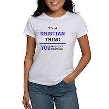 Cute Kristian Tee